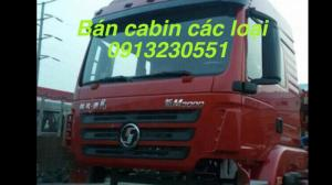 Bán cabin xe shacman, dongfeng, howo.