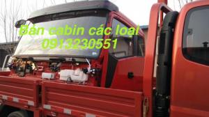 Bán cabin xe faw, dongfeng,