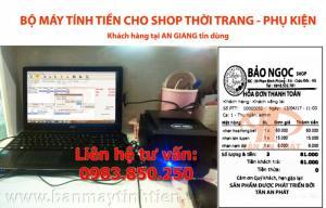 Bán trọn bộ máy tính tiền cho shop tại Đà Nẵng