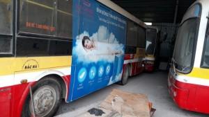 Thanh lý lô xe Bus B60 Trung Quốc đời 2006, tuyến bus nội đô Hà Nội Giá rẻ tại Bắc Giang