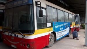 Bán lô xe bus Trung Quốc 2006 tuyến bus nội đô Hà Nội giá rẻ