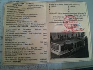 Bán lô xe Bus B60 Trung Quốc đời 2006, giá rẻ nhất tại Bắc Giang