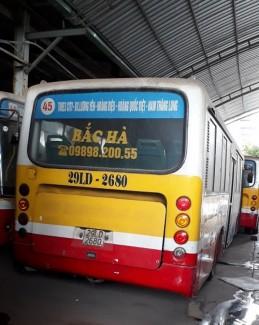 Bán Nhanh lô xe bus B60 Trung Quốc đời 2006 giá rẻ