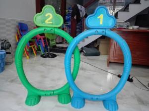 Cung chui số cho bé vận động - Cty Phương Nam