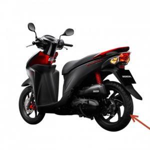 Lốp sau xe Vision Honda chính hãng Veloce