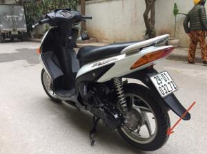 Lốp sau xe Click Honda chính hãng Veloce