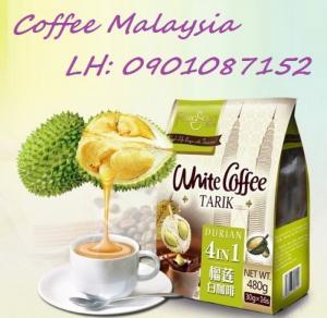 White Coffee Durian - Cà Phê Sầu Riêng