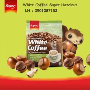 Cà phê trắng Super Hazelnut - vị hạt dẻ