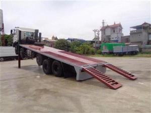 Xe nâng đầu chở máy công trình 8 tấn