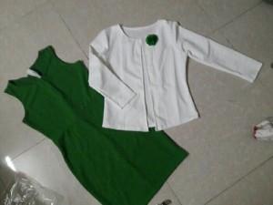 Đầm kèm áo khoác