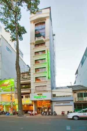 Bán khách sạn 18P mặt tiền Nguyễn Thông. P7.Q3, DT: 4.1x16m, NH: 9m, Hầm, 5 lầu