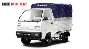 Bán xe tải Suzuki Super Carry Truck 650kg Thùng Lững 2017