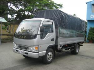 Xe tải JAC 1.5 tấn thùng kín, xe tải JAC 1.49 tấn động cơ Isuzu, Jac 1T49 thùng kín.