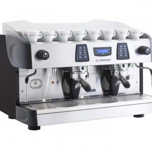 Cho thuê máy pha cà phê chuyên nghiệp Promac và máy xay cà phê tại TPHCM.