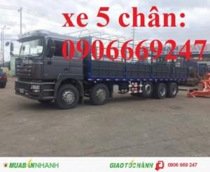 Xe tải 5 chân SHACMAN