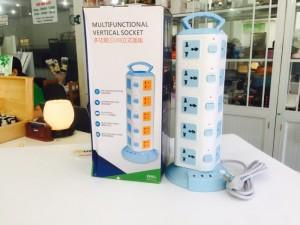 Ổ Cắm Điện Đa Năng 20 ổ cắm 3 Cổng USB, Chống Cháy Nổ, Công suất: 2500W - MSN383222