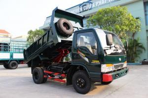 xe tải ben tải thùng chiến thắng trường giang 1.2 tấn