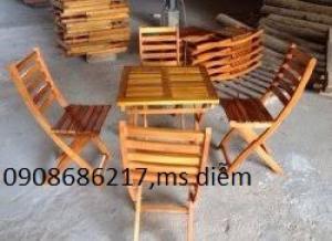 Thanh lý 35 bộ bàn ghế cafe giá rẻ mới 100%(1 loại)