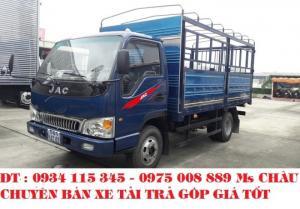 Bán xe tải JAC 4.9 tấn, xe tải công nghệ Isuzu mới. Xe tải jac 4.9T jac 4t9 trả góp.