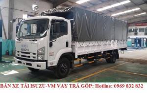 Xe tải Isuzu-Vm 8T2 Thùng mui bạt 7,2m