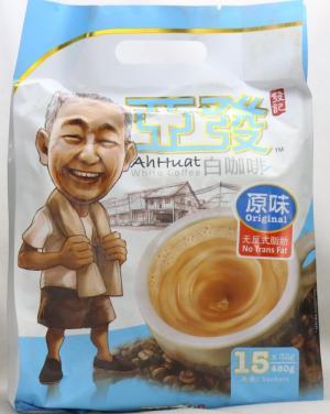 AH HUAT White Coffee - Low Fat - ít chất béo