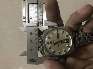 Đồng hồ đeo tay RADO auto Thuỵ Sĩ 3 cá ngựa máy vàng
