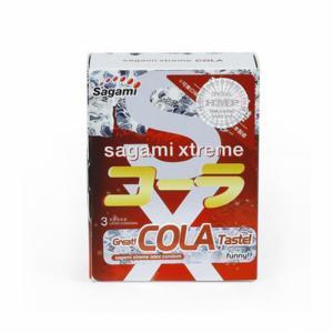Bao cao su Sagami Xtreme Cola (Hộp 3)