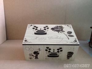 Hộp vô dụng. Useless Box phiên bản Quà Sinh Nhật. Có thú bông (22 kiểu đóng mở, có đầu hàng)