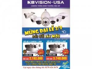 Camera quan sát kbvision usa 1003C4