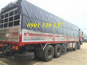 Xe tải thùng nhôm HD360 nhập khẩu tặng kèm nhiều option.