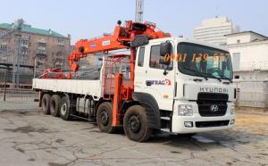 Xe tải gắn cẩu hyundai HD360 giá thấp nhất miền nam, tặng tem trago.
