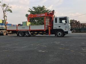 HD210 cẩu kanglim 5 tấn 6 khúc nhập khẩu