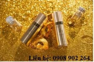 Chai mạ vàng, dung tích 8g/0.28 fl.oz
