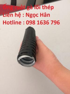 Ống ruột gà lõi thép - Ống su luồn dây điện - ống lò xo giá rẻ nhất