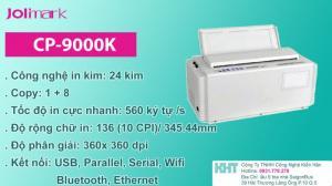 Máy in kim Jolimark CP9000K- Máy in kim- Jolimark