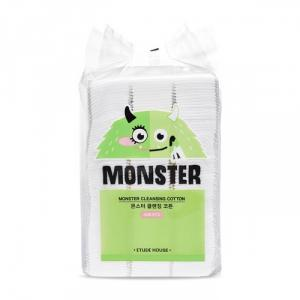 Bông Tẩy Trang Etude House Monster Cleansing Cotton 408pcs