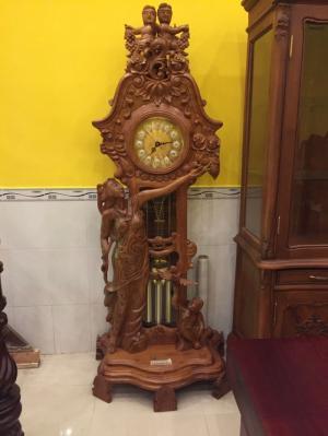 Đồng hồ cô tiên gỗ hương - DH05