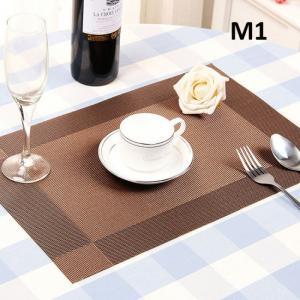 Bộ tấm lót bàn ăn set 4 miếng sweet house  cao cấp NX109