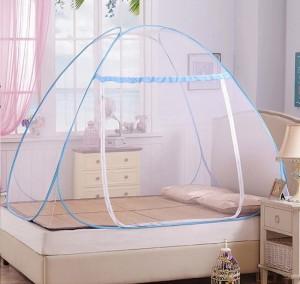 Sản phẩm được làm từ chất liệu vải tuyn mềm mại với khung thép chắc chắn.
