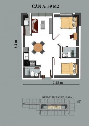 Bán căn hộ sơn thịnh 3 suất nội bộ CK từ CĐT 10% - 15%