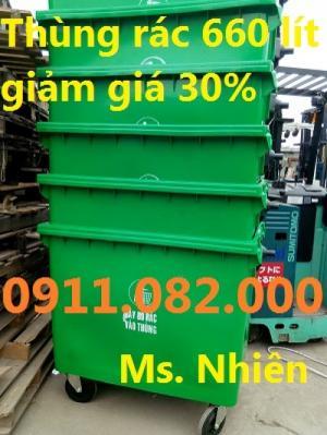 Chuyên cung cấp thùng rác 120 lít, 240 lít giá rẻ- Giảm giá siêu rẻ khi mua sỉ