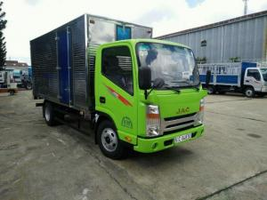 Bán xe tải Jac 2.5 tấn thùng 4m2 cabin vuông isuzu giá rẻ tại sài gòn