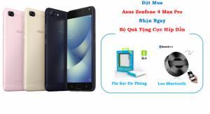Asus Zenfone 4 Max Pro Camera Kép, Pin Siêu Khủng 5000mAh + Tặng Sạc Dự Phòng, Loa Bluetooth - ZC554KL