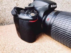 Nikon D5100 lens 55-200