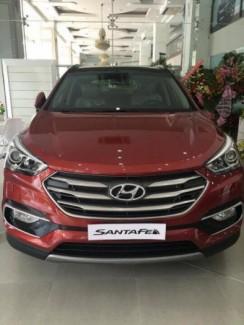 Hyundai Santafe 2017 máy dầu full mới 100% giảm 120tr tiền mặt