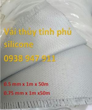 Vải thủy tinh phủ silicone  - Vải silicone - Làm khớp nối - Ống thông gió - thông khí
