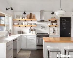 Tủ bếp ván gỗ công nghiệp An Cường