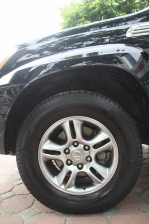 Lexus GX 470 đời 2008. Màu đen nội thất kem. Xe chính chủ nhập khẩu nguyên chiếc