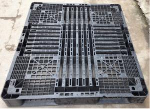 Pallet nhựa cũ thanh lý giá rẻ 1300x1100x120 mm
