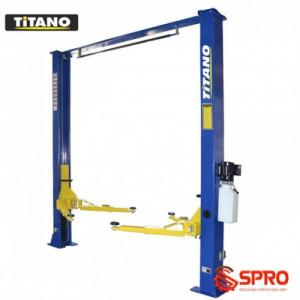 Cầu nâng 2 trụ Titano TC-4000D giá rẻ, lắp đặt tận nơi